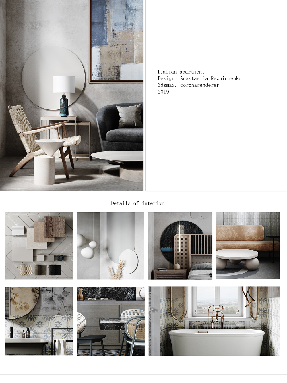 Autodesk Room Design: Italian Apartment On Behance (With Images)