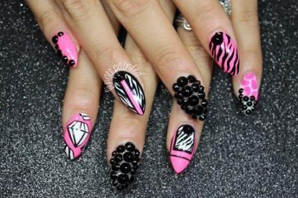 new nails bright diamonds 67 ideas nails  nails design