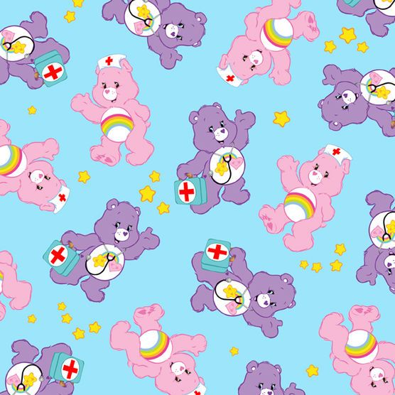 Dr Care Bear Scrubs Cotton Fabric At Joann Com Care Bear Care Bears Care Bears Cousins