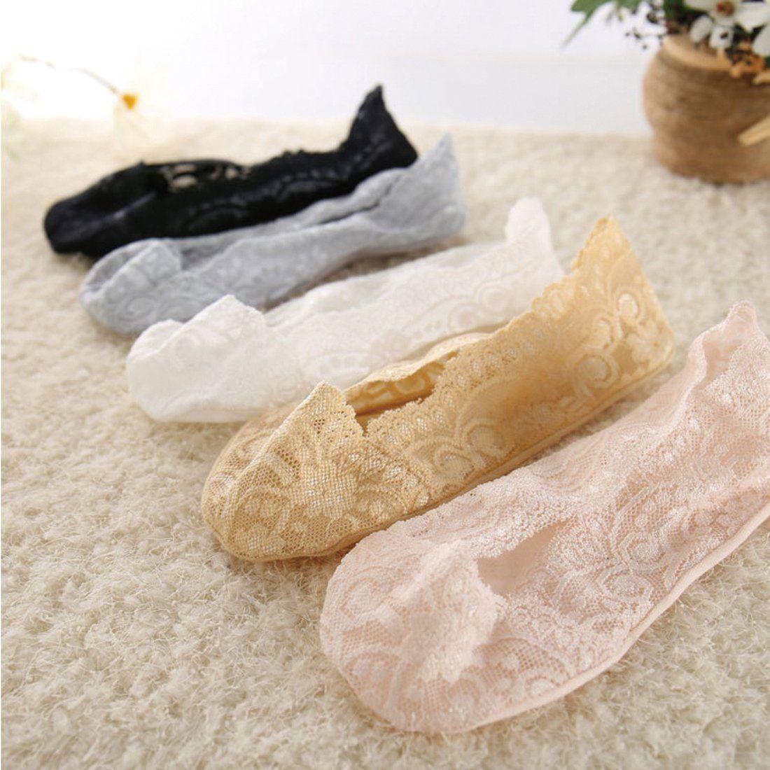 Lace Scalloped Socks #inspireuplift explore Pinterest