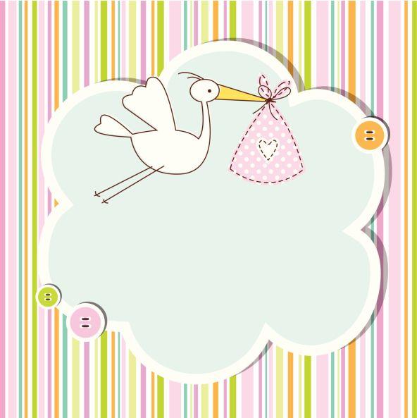 hermosas para realizar invitaciones para baby shower baby shower
