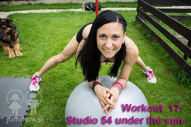 Workout 17. Studio 54 under the sun