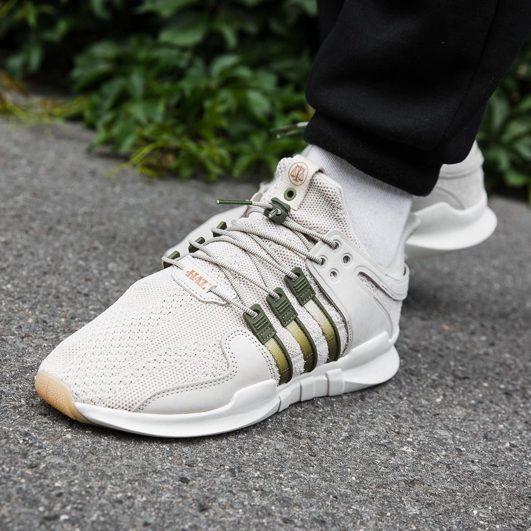 Adidas Consortium x Highs & Lows EQT Support ADV Beige / Olive ...