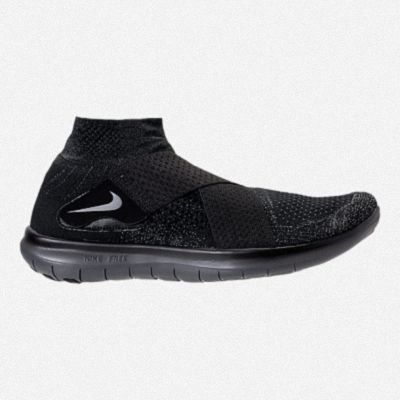 42fbaeaeb2fd MENS NIKE FREE RN MOTION FLYKNIT 2018 RUNNING SHOES 880845 003 Black Dark  Grey Anthracite