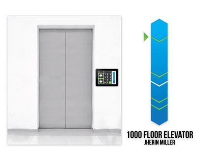 User Interface Design For A 1 000 Floor Elevator Elevation
