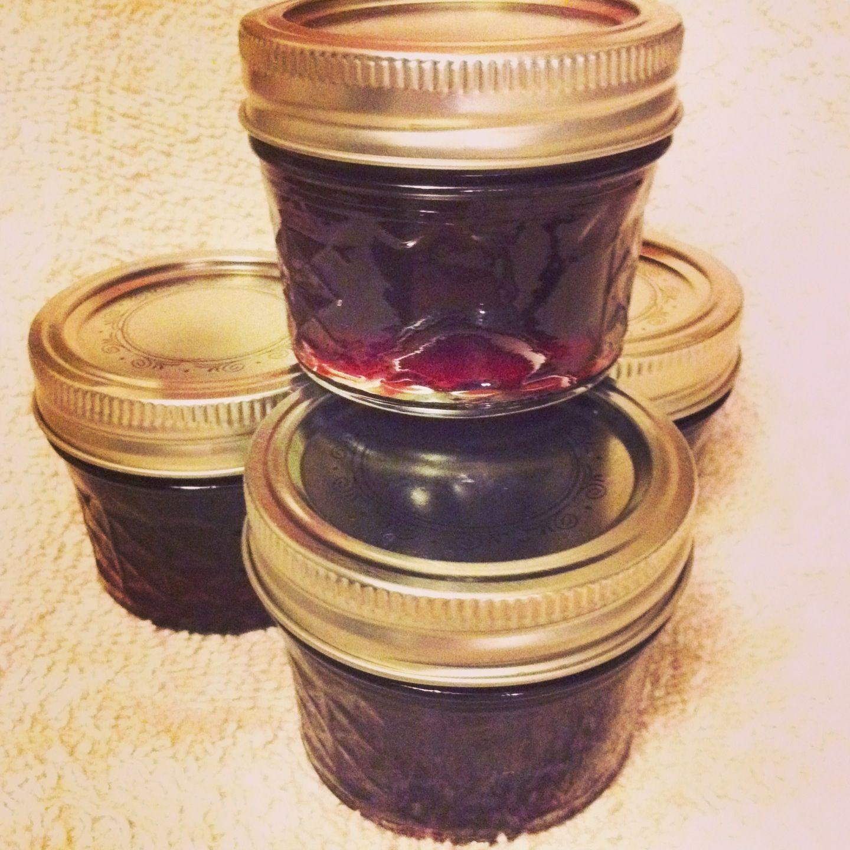 pomegranate jalape241o jelly i followed balls recipe for