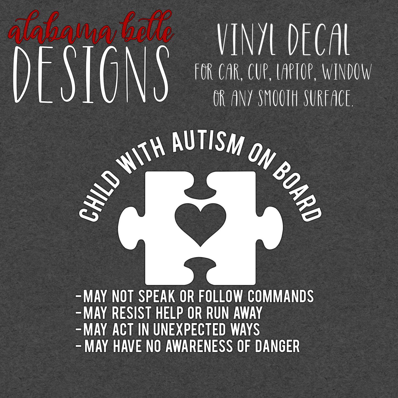 Pin By Amber Shubert On Decals Autism Decals Vinyl Car Stickers Autism [ 1500 x 1500 Pixel ]