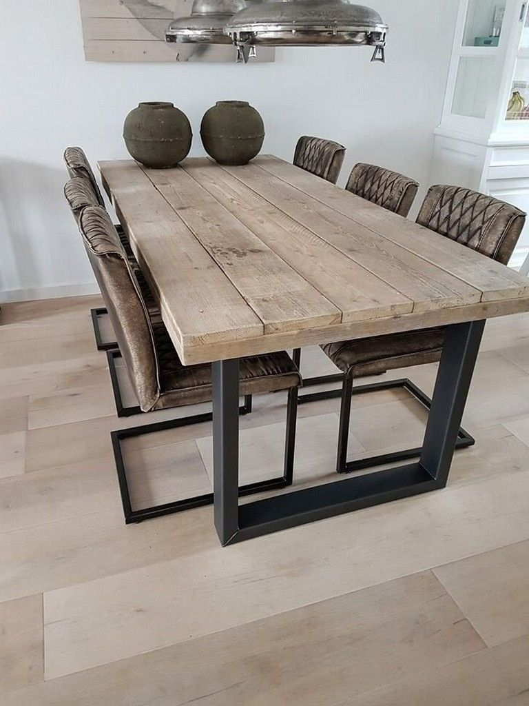 Timber Dining Table Ideas That Can Be Used As One With A Family