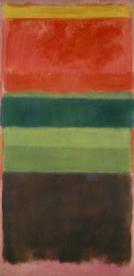Mark Rothko - Untitled  National Gallery of Art, Washington DC