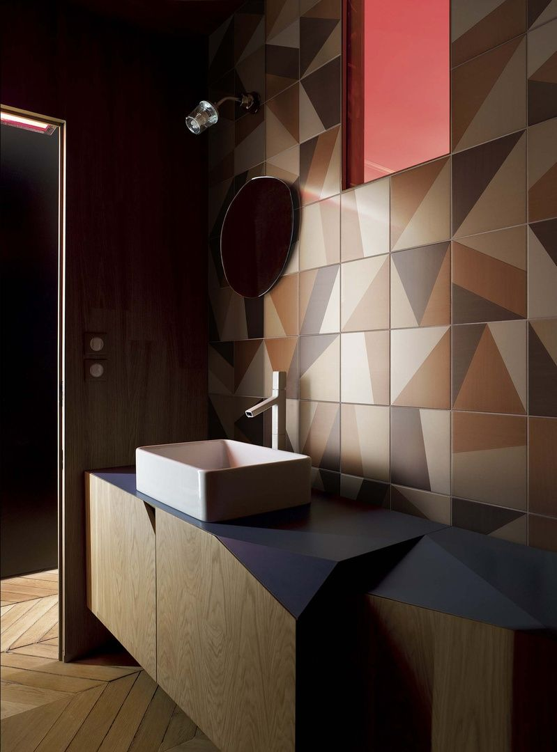 Vernici Per Piastrelle Del Bagno tangram by atelier bardelli (with images) | painting ceramic