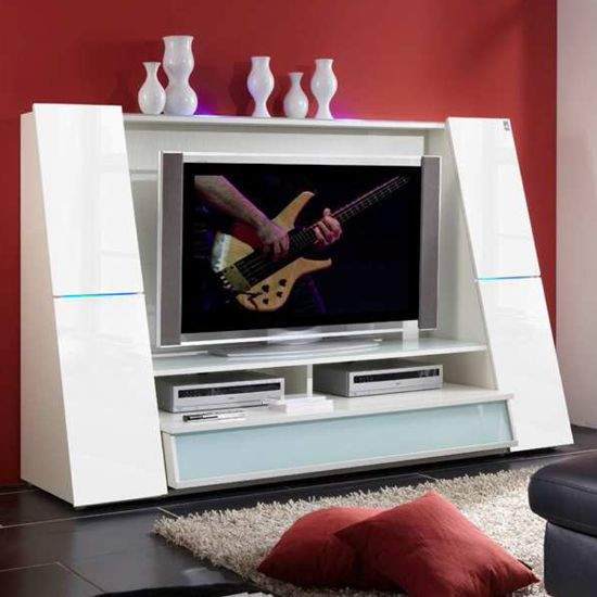 Good Star White TV Entertainment Unit In High Gloss 66106   15176 Browse Our  Range Of High Gloss TV Stands, Units And Cabinets At Furniture In Fashion.