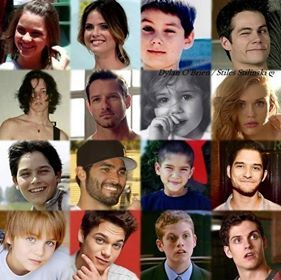 Teen Wolf cast baby pictures