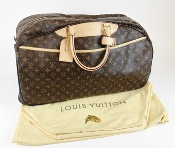 3c628cb5ce15 Louis Vuitton Monogram Canvas Leather Rolling Eole 50 Luggage Travel Trolley  Brown Monogram Travel Bag  2