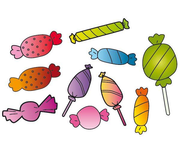 Image bonbon a imprimer sticker bonbons la folie sticker b b decoupage enfant - Bonbon en dessin ...