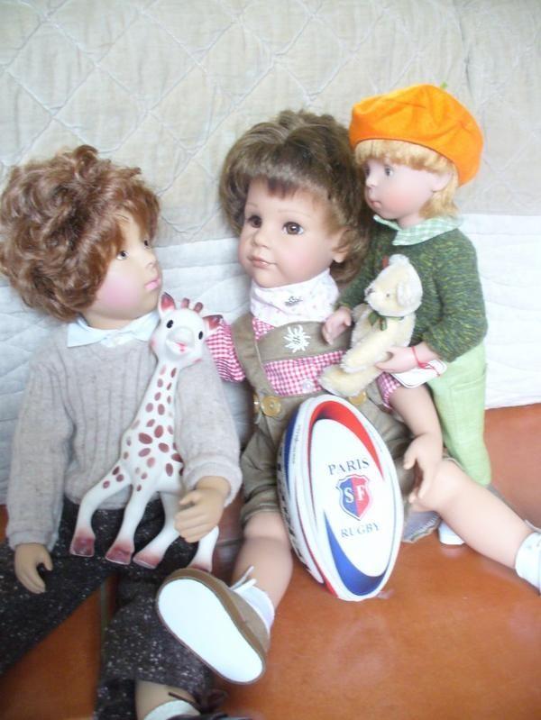 retour de vide grenier chez les gar ons 2 2 a dolls gotz pinterest vide grenier. Black Bedroom Furniture Sets. Home Design Ideas