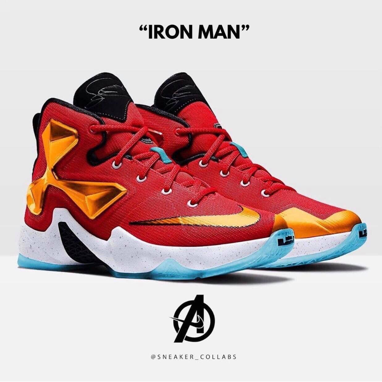 Nike x Avengers Iron Man | Marvel shoes