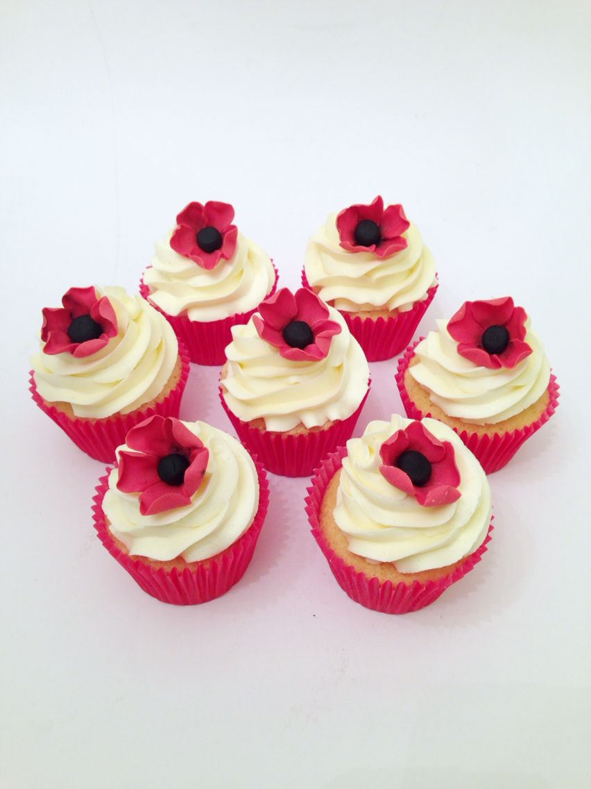 Remembrance Day Cupcakes Sugarush - cakes by Claire ...