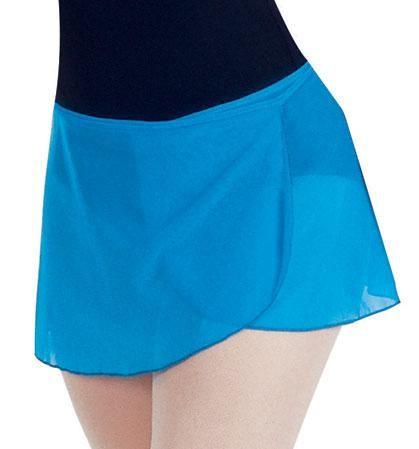 How to make a chiffon wrap ballet skirt for dance class   DIY ...