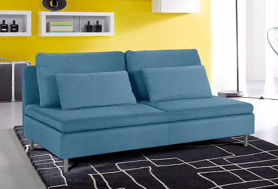 INOSIGN 3-Sitzer ohne Armlehnen Jetzt bestellen unter: https://moebel.ladendirekt.de/wohnzimmer/sofas/2-und-3-sitzer-sofas/?uid=047f7ed7-8995-51c2-ba2b-28aa5e33c00f&utm_source=pinterest&utm_medium=pin&utm_campaign=boards #sofas #3sitzersofas #wohnzimmer