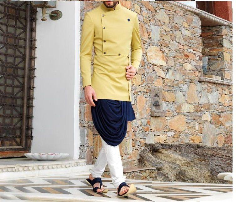 Beautiful indo Western Sherwani with Churidar for men  Suit  shervani for men  kurta set  Groom kurta  Groom sherwani