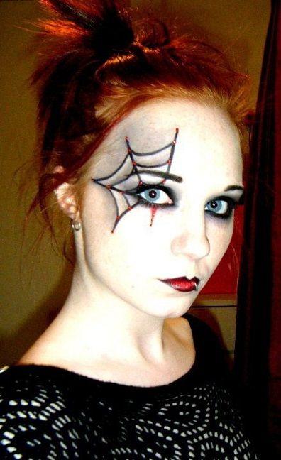 20 Maquillajes para Halloween tan fáciles que querrás hacértelos - easy makeup halloween ideas