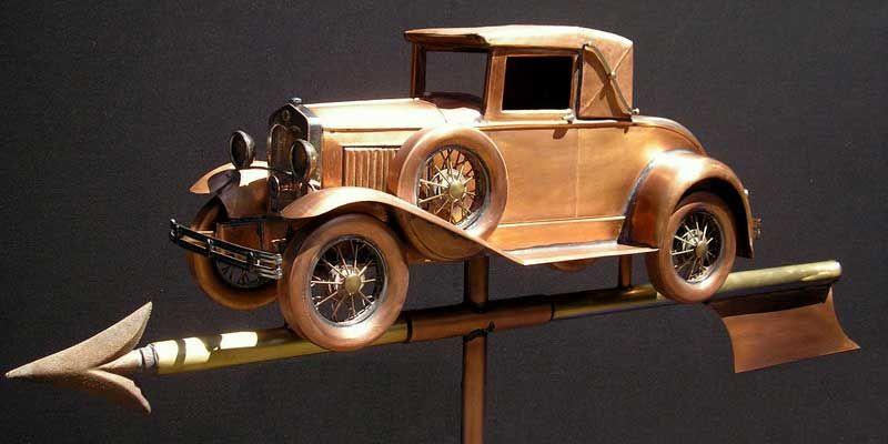 Model A Weathervane Custom Copper Model A Weathervane Copper Model Weathervanes