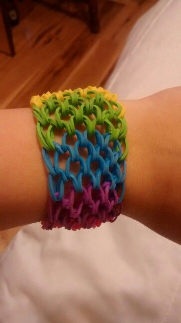 Rainbow dragon scale bracelet