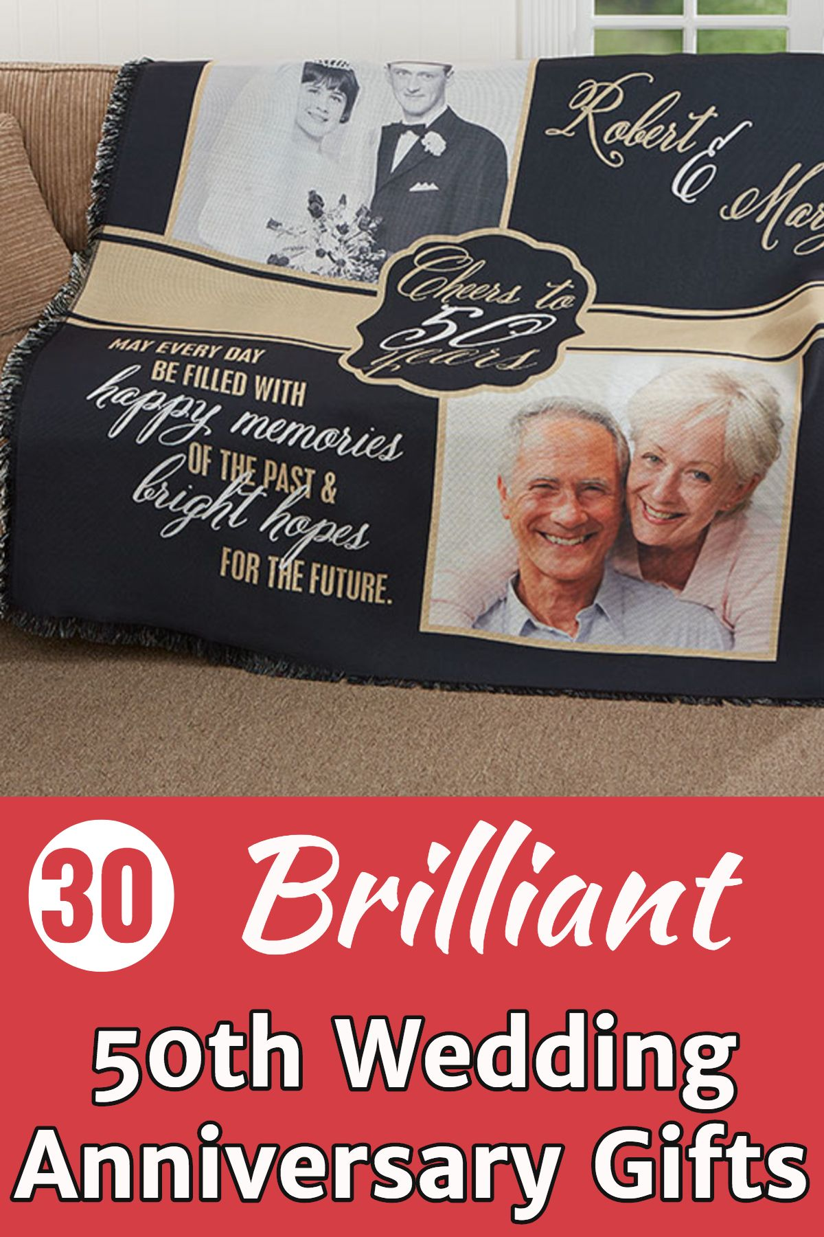 50th Wedding Anniversary Gifts Best Gift Ideas For A Golden Anniversary 50 Wedding Anniversary Gifts Golden Anniversary Gifts 50th Anniversary Gifts