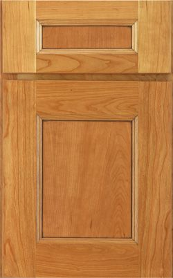 New Haven Cherry In Wheat Burnished Cherry Door Styles Lowes