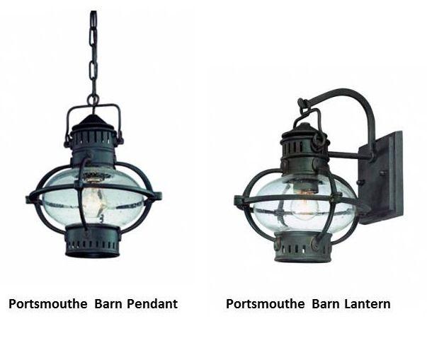 Outdoor Lanterns Lend Clic Nautical New England Style