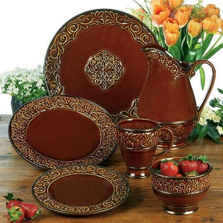 Certified International® Solstice Brown Dinnerware Collection  Target & Certified International® Solstice Brown Dinnerware Collection ...