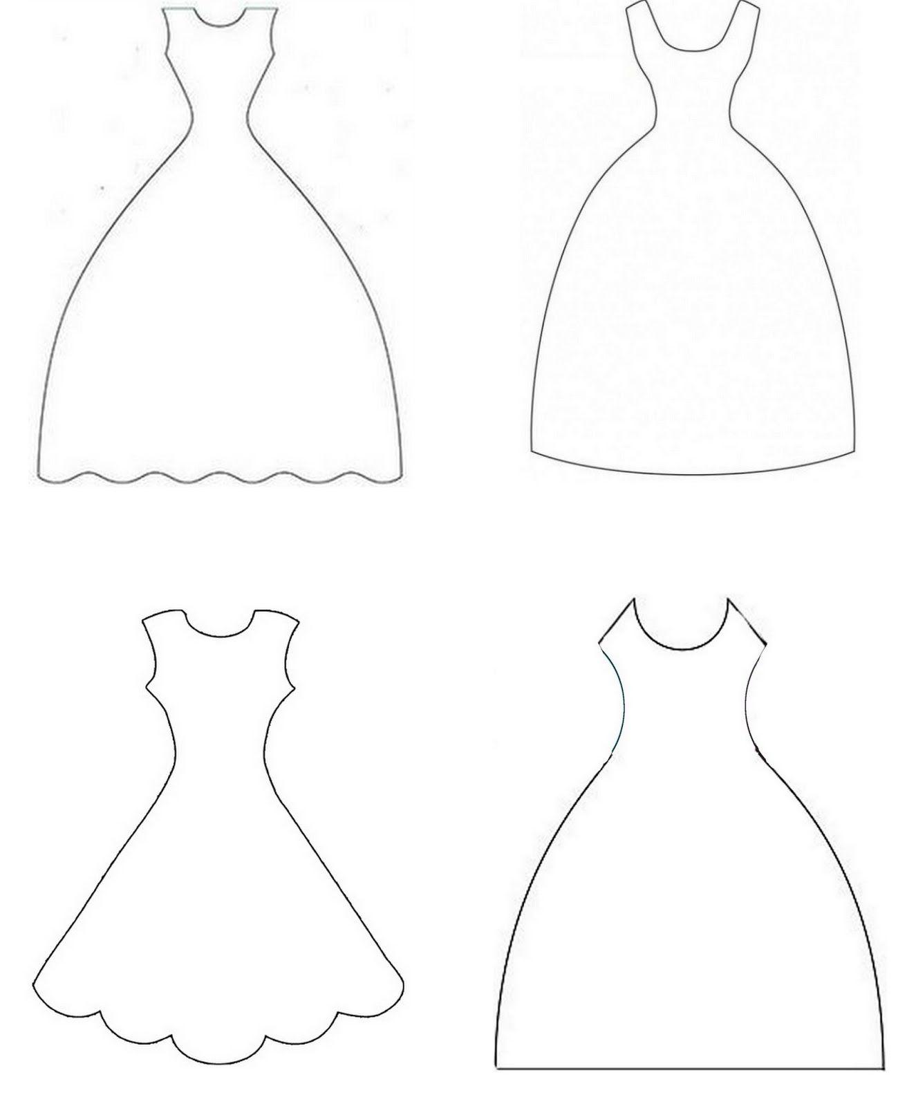 Bride Wedding Dress Templates