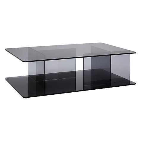 Buy Matthew Hilton For Case Lucent Glass Coffee Table, Smoke Online At  Johnlewis.com
