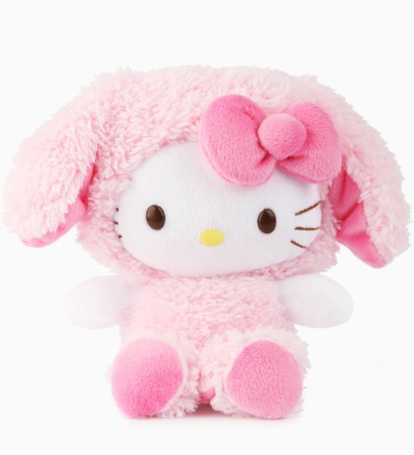 Hello Kitty makes the cutest bunny. Sweet plush measuring 8 inches ...
