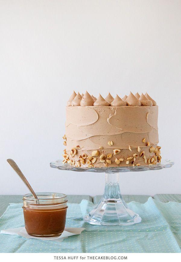 Banana Chocolate Hazelnut Cake//