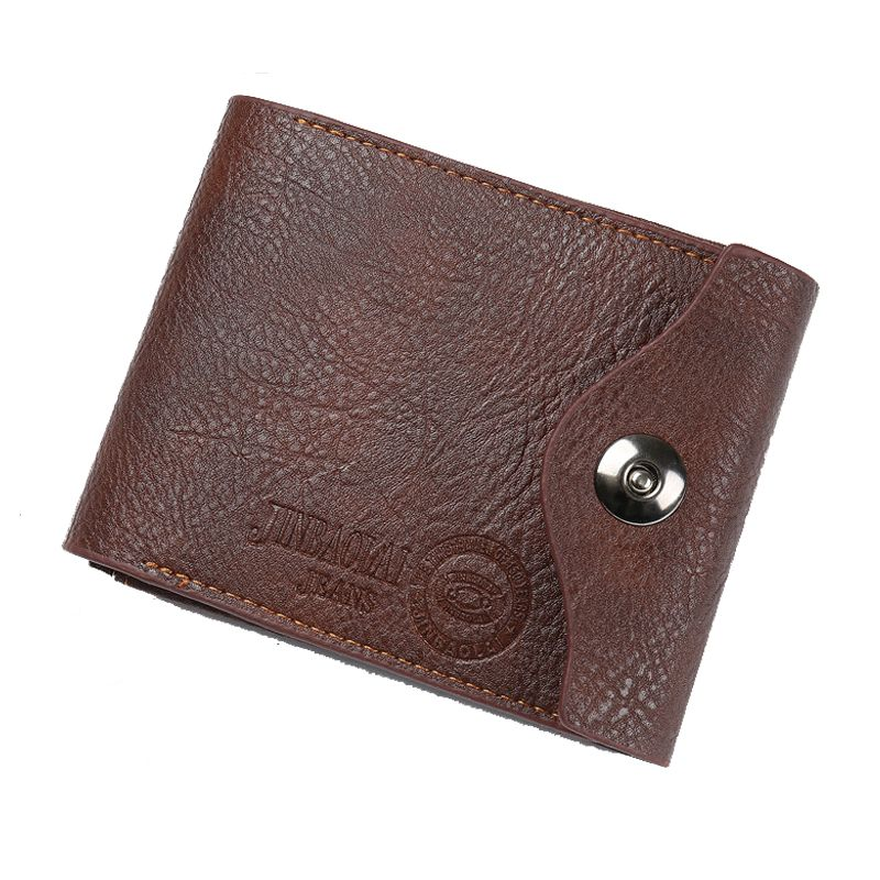 3d9d4128bb7f CONTACTS Genuine Leather Men Wallets New Male Short Purse Brand Design  Money Trifold Clutch Wallet With Card ...