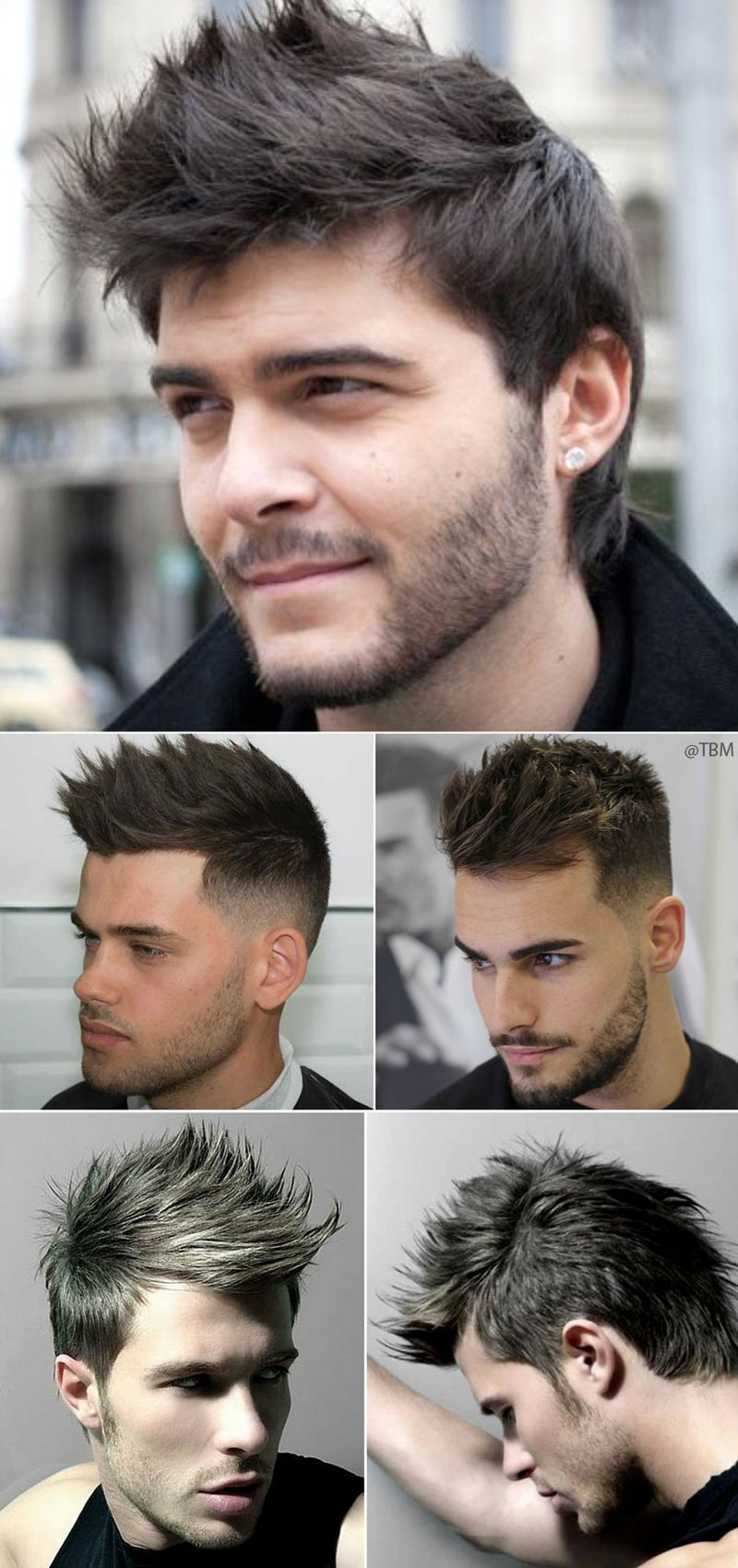 Men S Spiky Hairstyles Spiky Hair Mens Hairstyles Hairstyles Haircuts