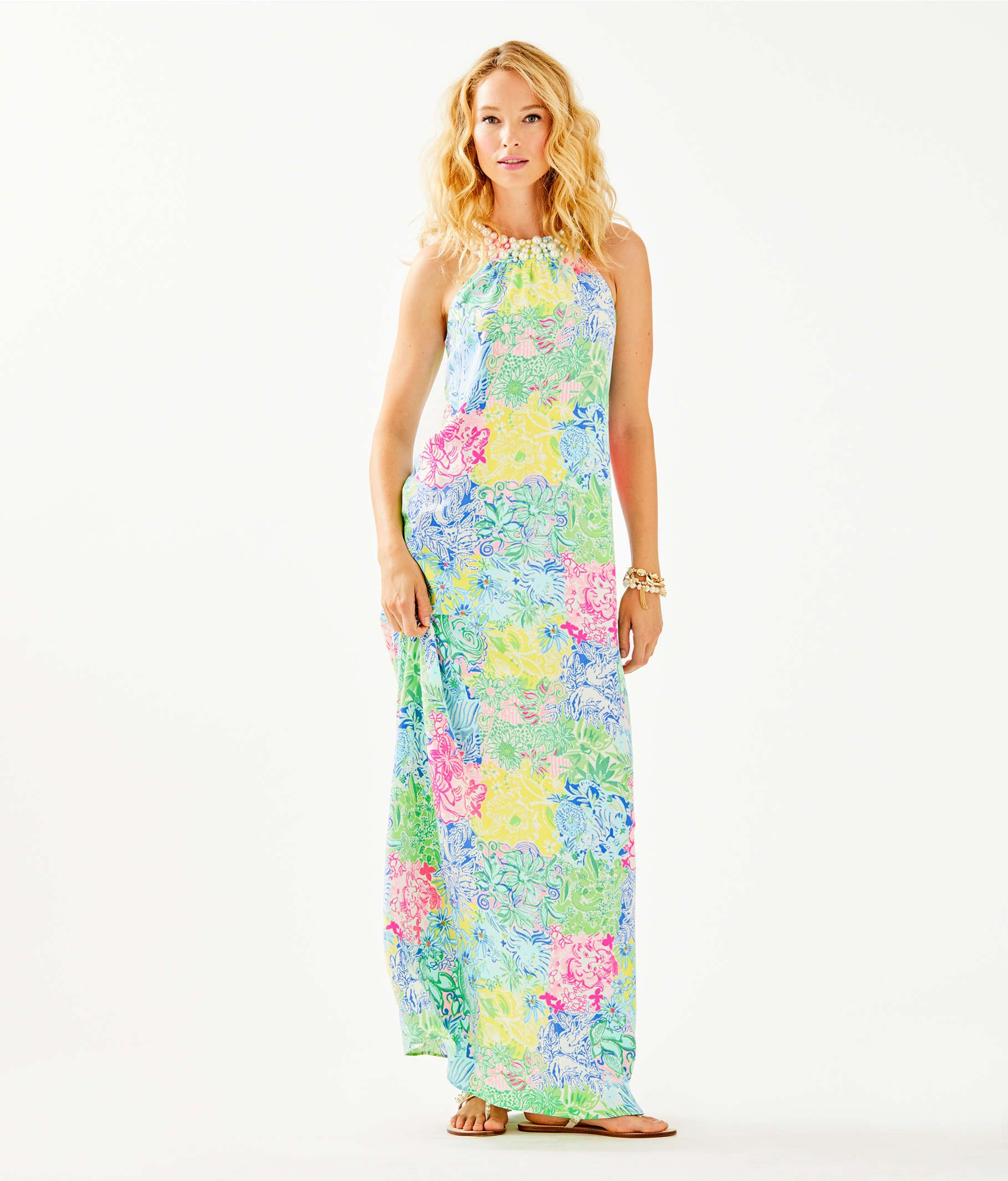 4eb98be07f93d7 Lilly Pulitzer Shawn Maxi Dress in 2019 | home | Dresses, Dress ...