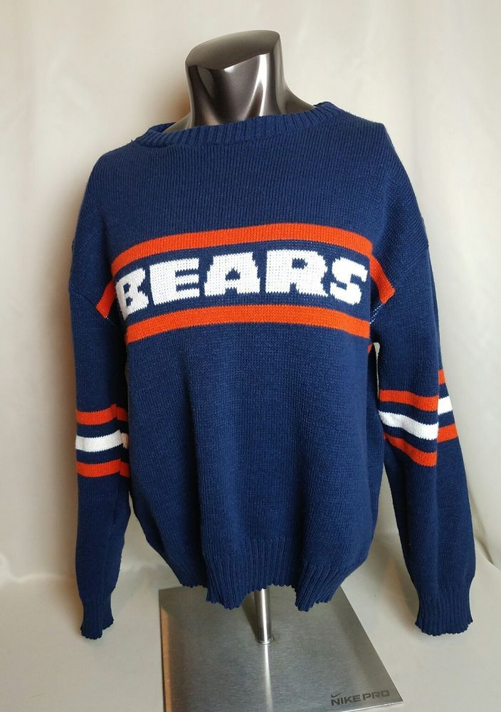 the latest 7d111 0022a Mens Vintage Chicago Bears Ditka Style Sweater 3XL   Sports Mem, Cards    Fan Shop, Fan Apparel   Souvenirs, Football-NFL   eBay!
