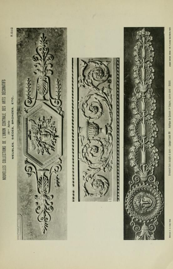 1900 - Meubles, sièges, bronzes, dessins - by Musée des arts décoratifs (France)