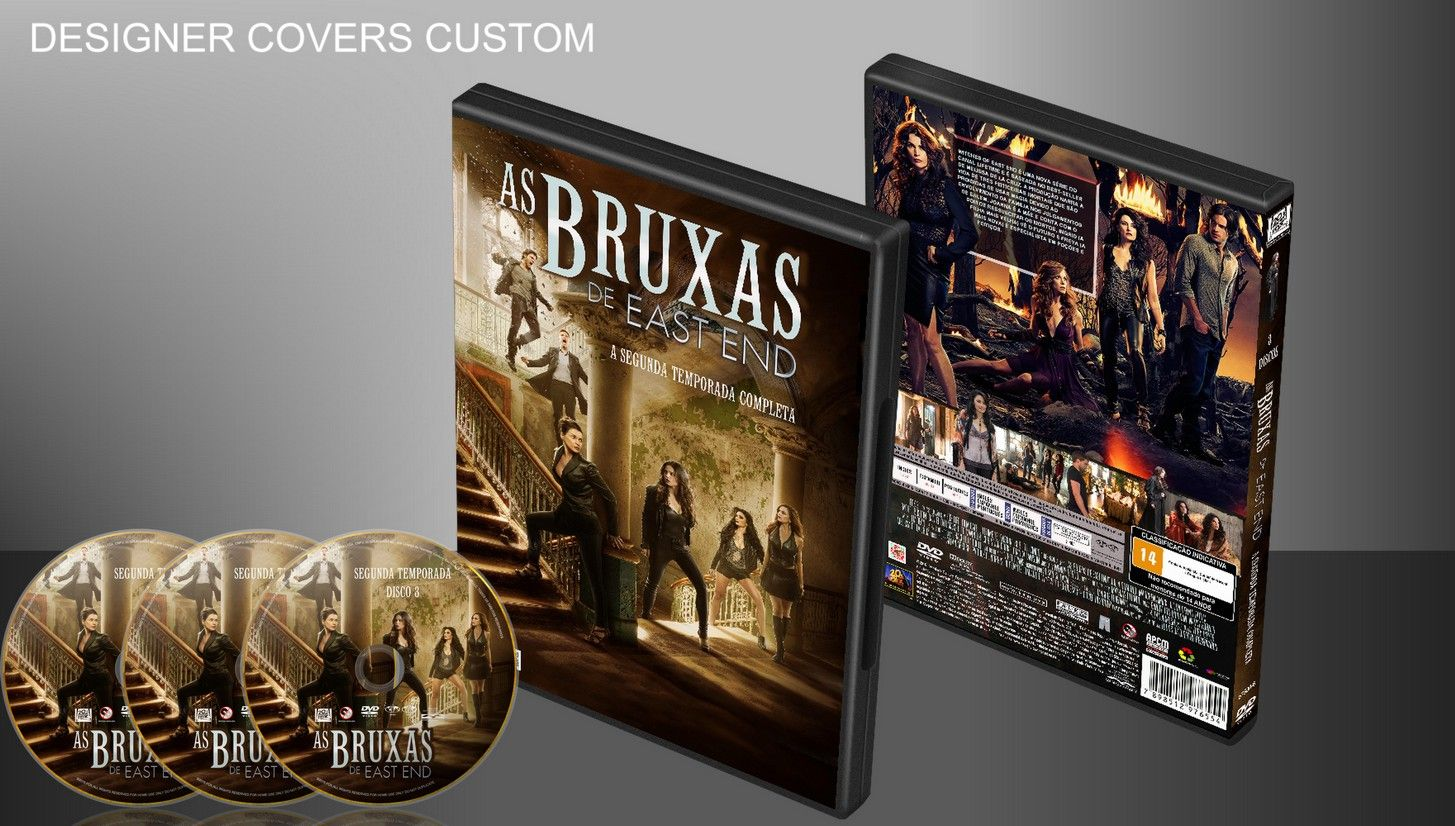 As Bruxas De East End - Segunda Temporada (Completa) - Capa | VITRINE - Galeria De Capas - Designer Covers Custom | Capas & Labels Customizados