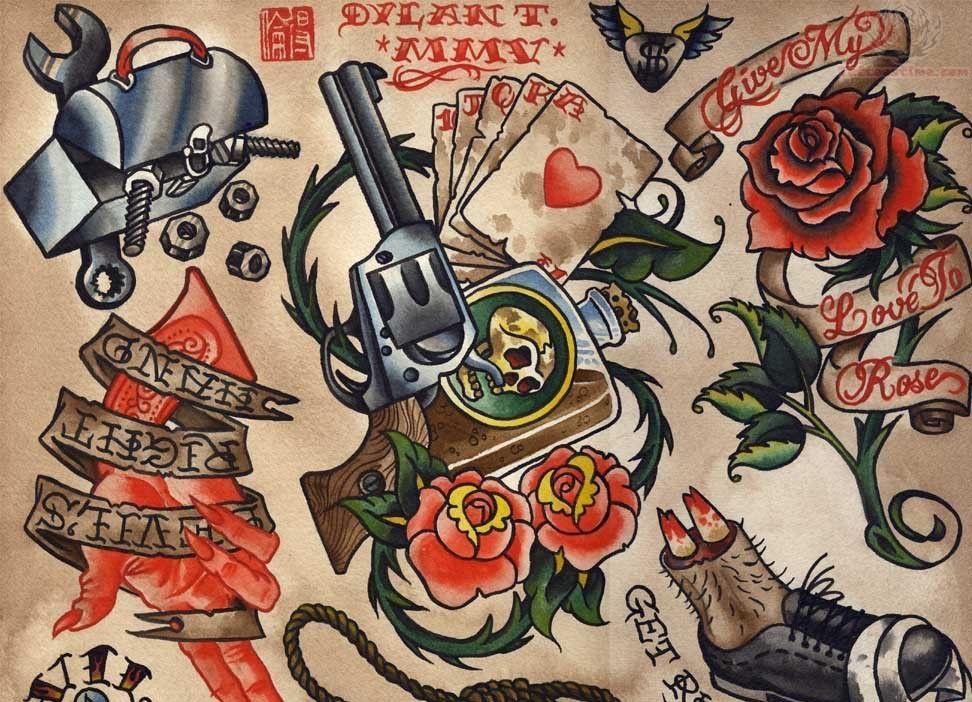 Cde6ec9b27fb3b9472407b992f823c83 Jpg 972 702 Old School Tattoo Designs Old School Tattoo School Tattoo