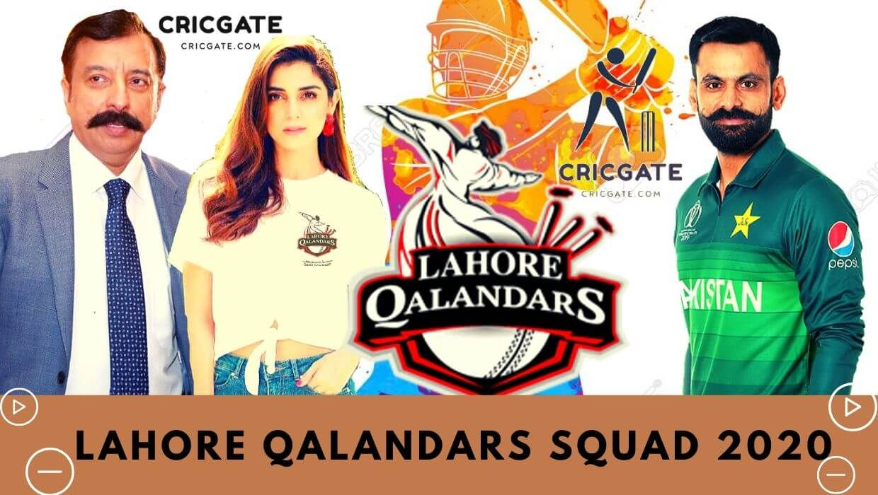Lahore Qalandars Squad 2020 Lahore Qalandars Team Player List Team Player League Schedule Squad