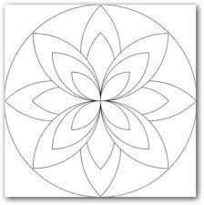 Imagenes De Mandalas Para Dibujar Faciles