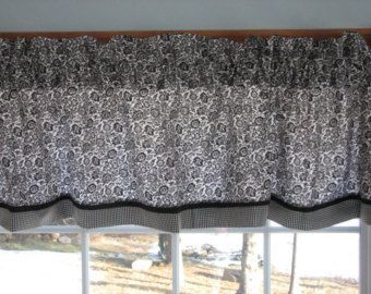 Items similar to Burlap and lace valence curtain window treatment on Etsy #burlapwindowtreatments Items similar to Burlap and lace valence curtain window treatment on Etsy #burlapwindowtreatments