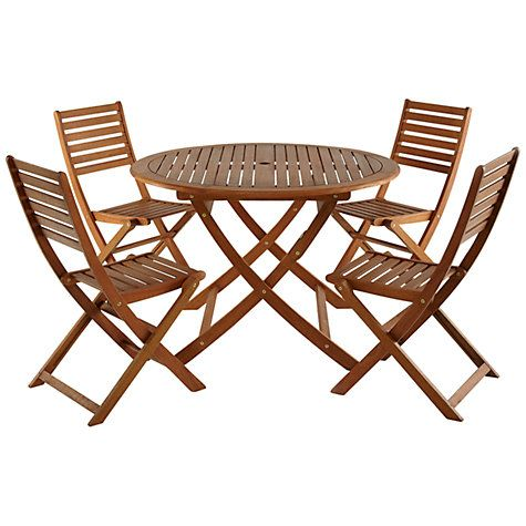John Lewis Amp Partners Naples 4 Seater Outdoor Dining Set