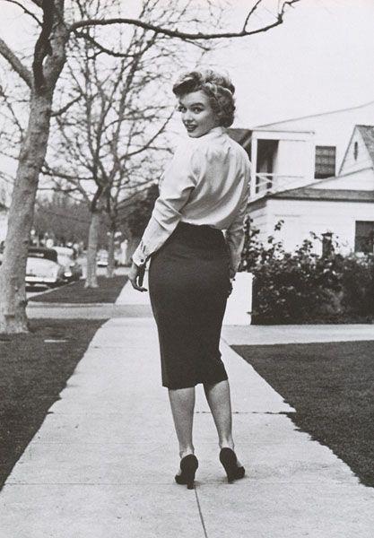 e1590612669acb Marilyn Monroe | Marilyn Monroe | Jupes Crayon, Jupe, Crayon