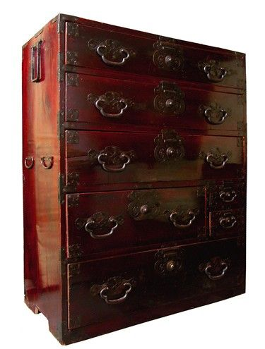japanese antique chest mobilier japonais pinterest meubles japonais mobilier de salon et. Black Bedroom Furniture Sets. Home Design Ideas