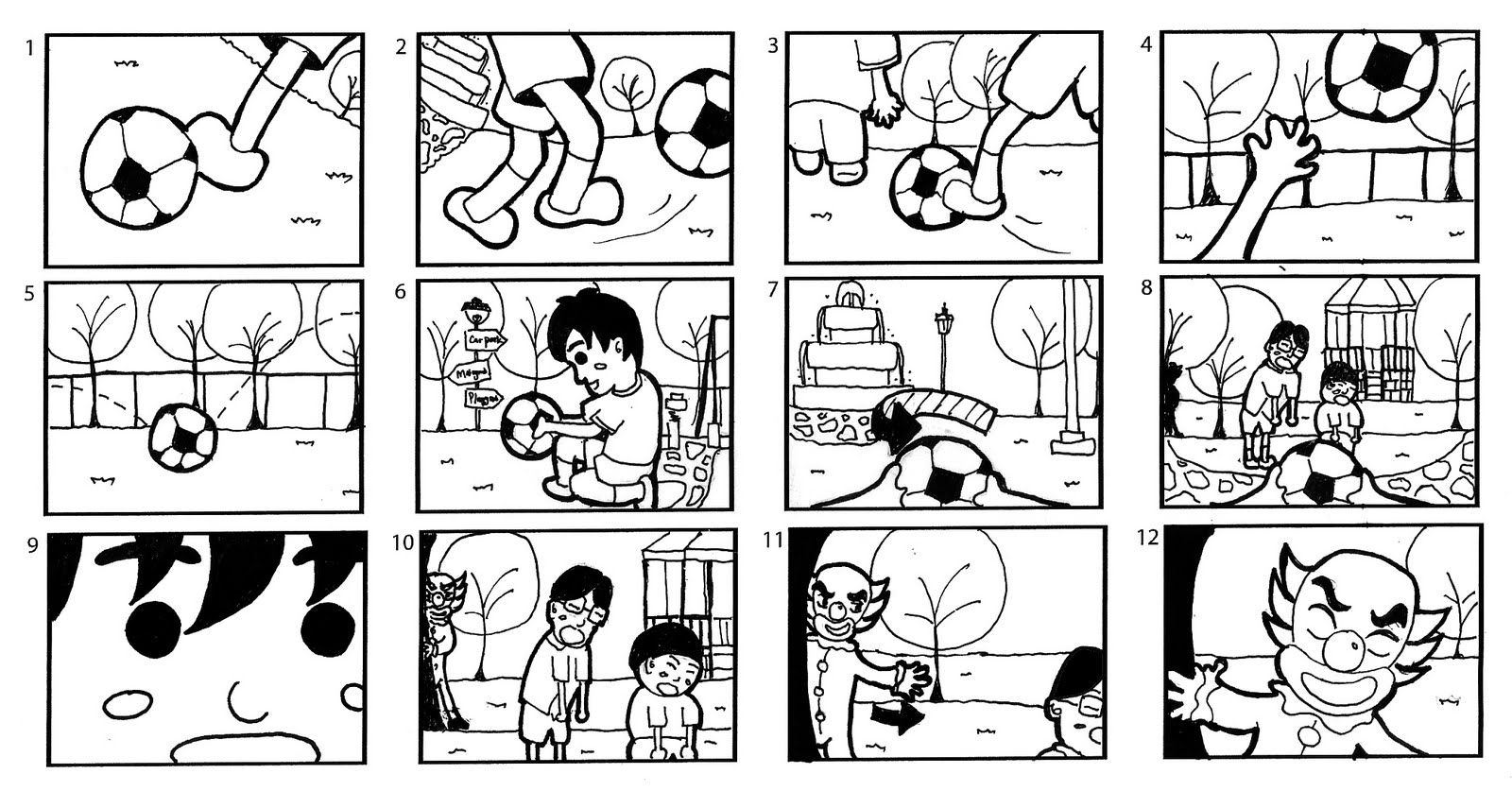 This Is A Very Simple Storyboard But I Like The Amount Of Detail