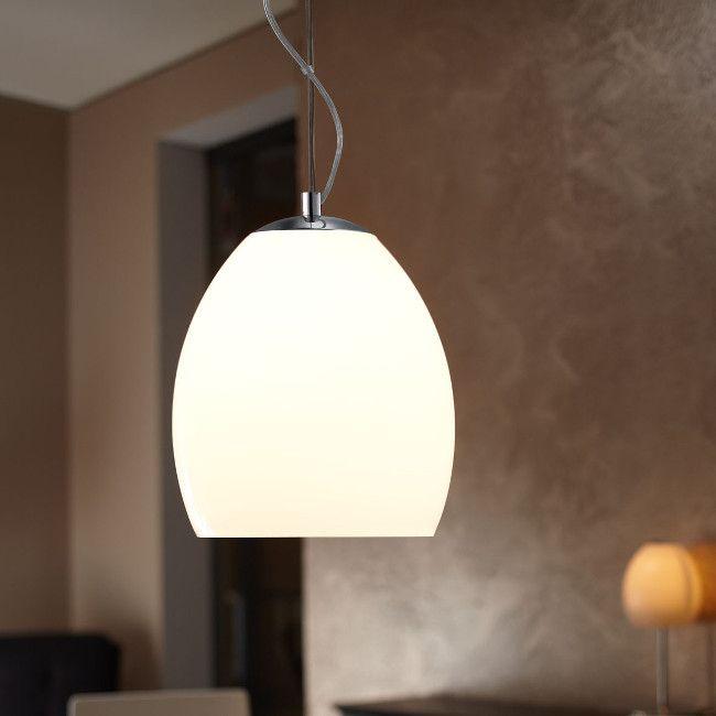 CHATEAU PENDANT LIGHT CHROME / OPAL GLASS